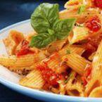 Пене с доматен сос и босилек