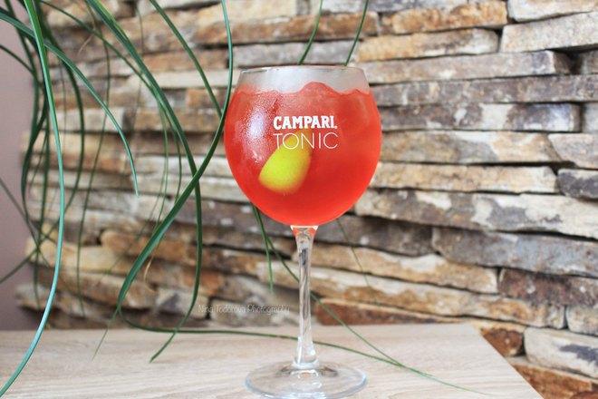"""Коктейл """"Campari Tonic"""""""