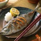Маринована риба с портокал на скара