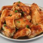 Печени пилешки бутчета със зехтин и соев сос