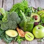 Смути от авокадо, киви и зелена ябълка