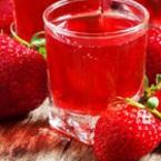 Студен чай от ягоди с мед