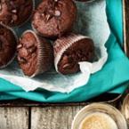 Мъфини с шоколад и какао