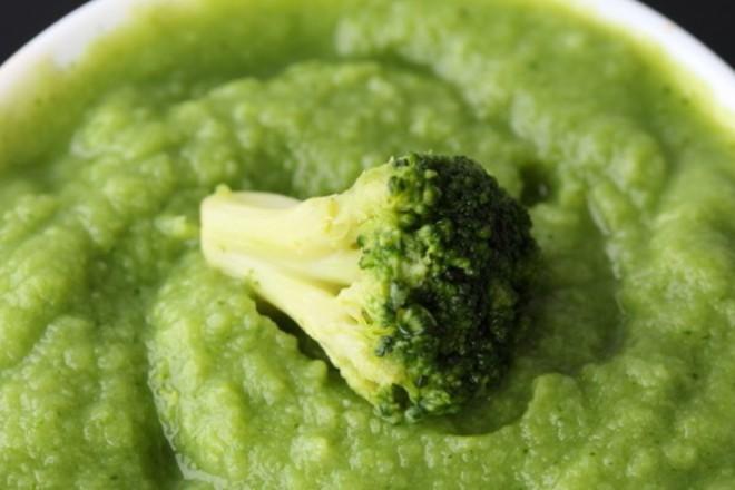Крем супа от броколи с лимон