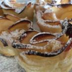 Сладки Розички от бутер тесто