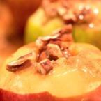 Печени ябълки в сайдер