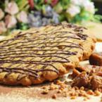 Ръжена курабия със сушени смокини и крокант