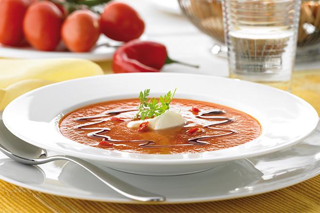 Японска червена супа с водка