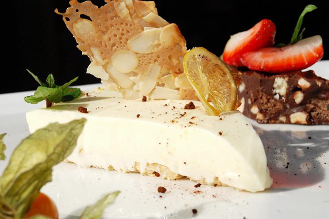 Чийз кейк с бял шоколад без печене
