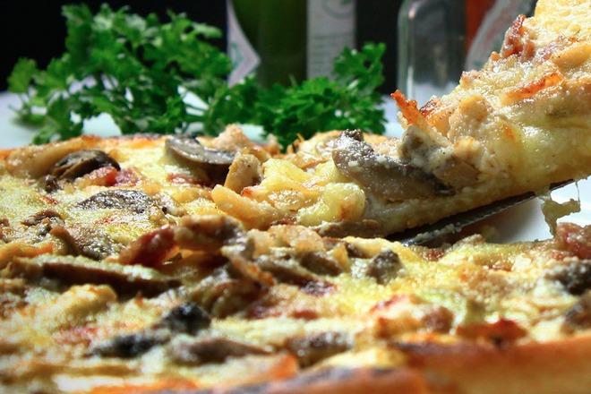 Пица с тесто от карфиол