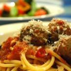 Спагети с агнешки кюфтенца и фенел