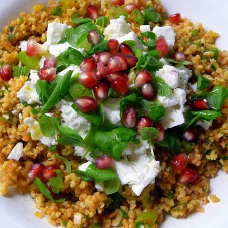 Large salata s bulgur nar i menta