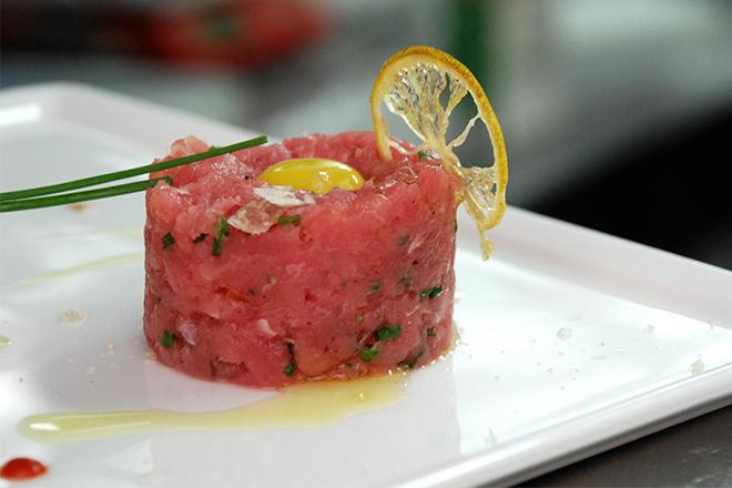 Тартар от риба тон на шеф Ивайло Рангелов