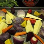 Запечени кореноплодни зеленчуци