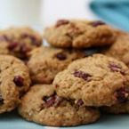 Овесени бисквити с боровинки