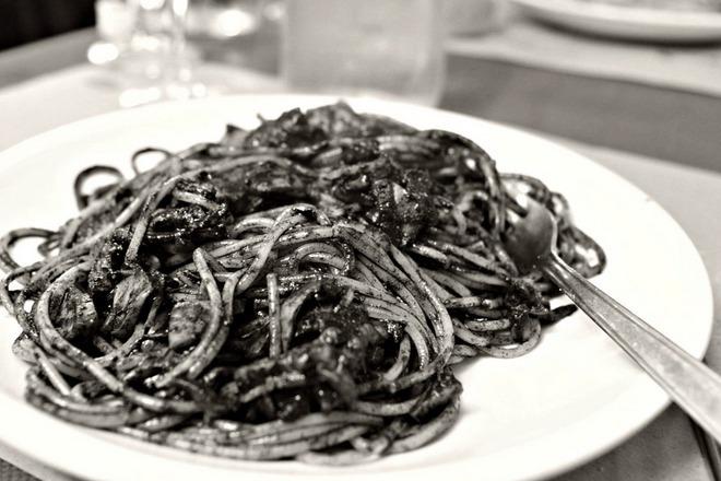 Спагети Ал Неро ди Сепия