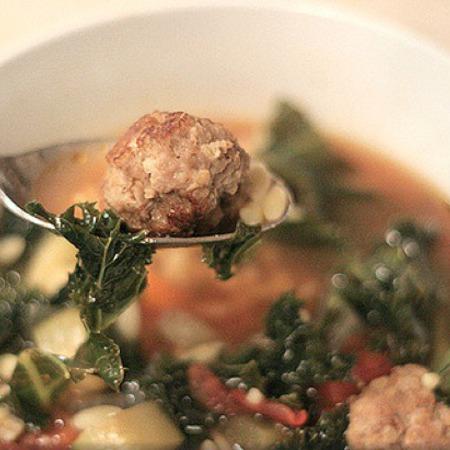 Large italianska svatbena supa