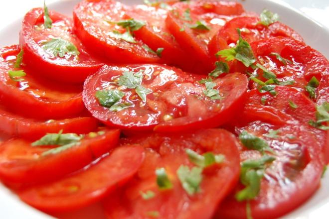 Салата от домати