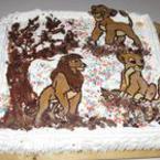 """Шоколадова торта """"Цар лъв"""""""