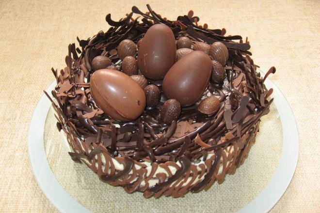 """Торта """"Гнездо"""""""