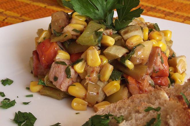 Пъстър зеленчуков аламинут