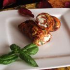 Палачинки с червени чушки и маслини