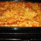 Лазаня със спагети