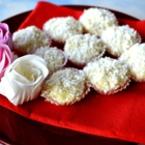Бели трюфели с кокос
