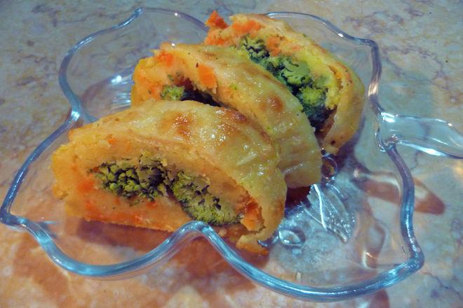 Картофено руло с броколи