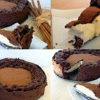Шоколадов сладкиш с кафе и маскарпоне