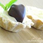 Орехови тарталети с ягодова сърцевина
