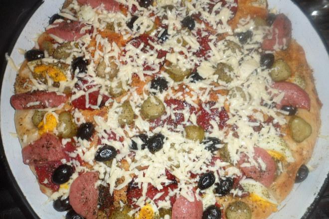 Бърза и вкусна пица