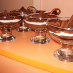 """""""Lafer`s Sachertorte im Glas"""" или просто торта """"Сахер"""" в чаша"""