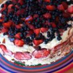 Бисквитена торта с маскарпоне