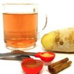 Домашен чай с джинджифил, мед и канела