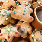 Коледни сладки с украса
