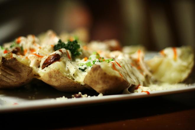Пълнени печени картофи (Белгия)