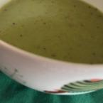 Крем супа от грах с мащерка