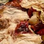 Пълнени сушени чушки с боб