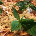 Фарфале с печен доматен сос